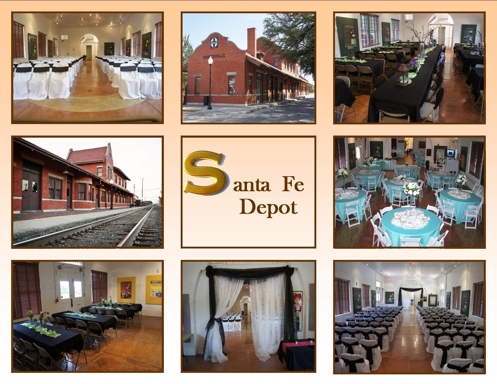 Sante Fe Depot Photo Collage
