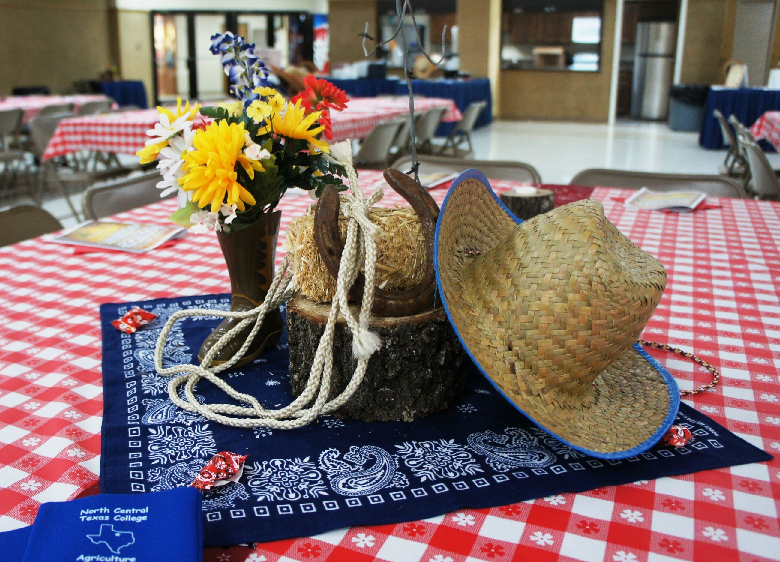 Table Setting with Hat