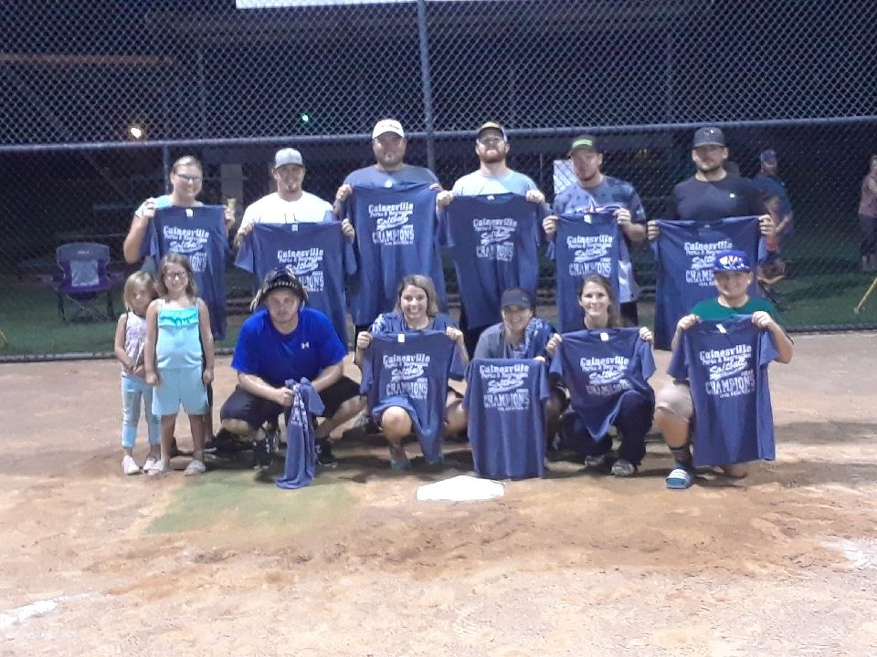 2018 Summer II Coed Champs Pic