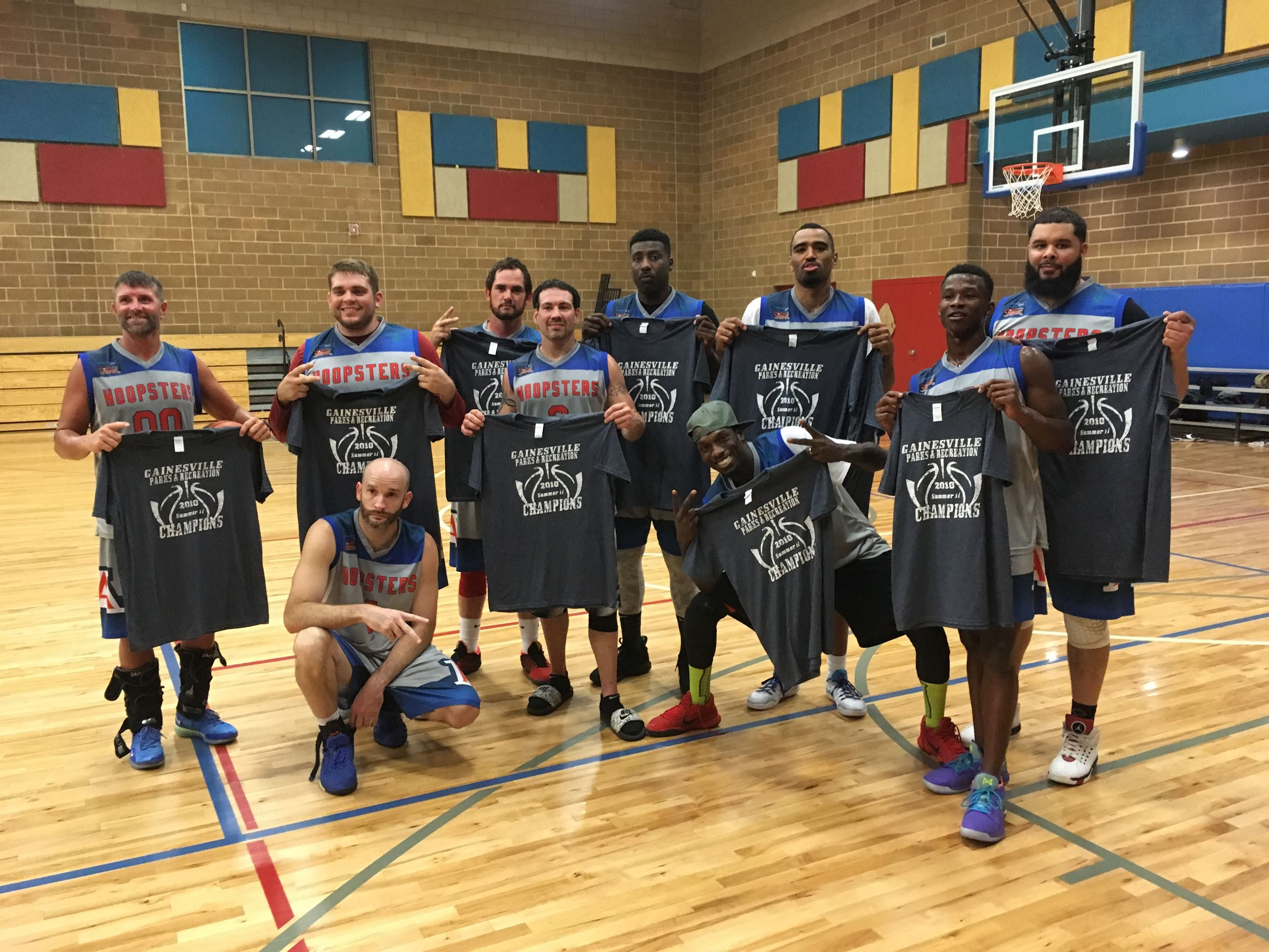 2018 Summer II Mens Basketball Champs