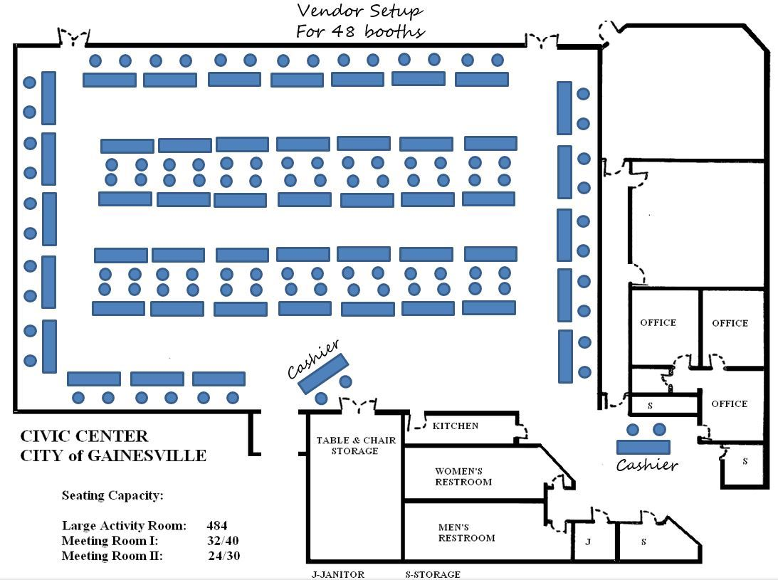 Vendor Booth Layout