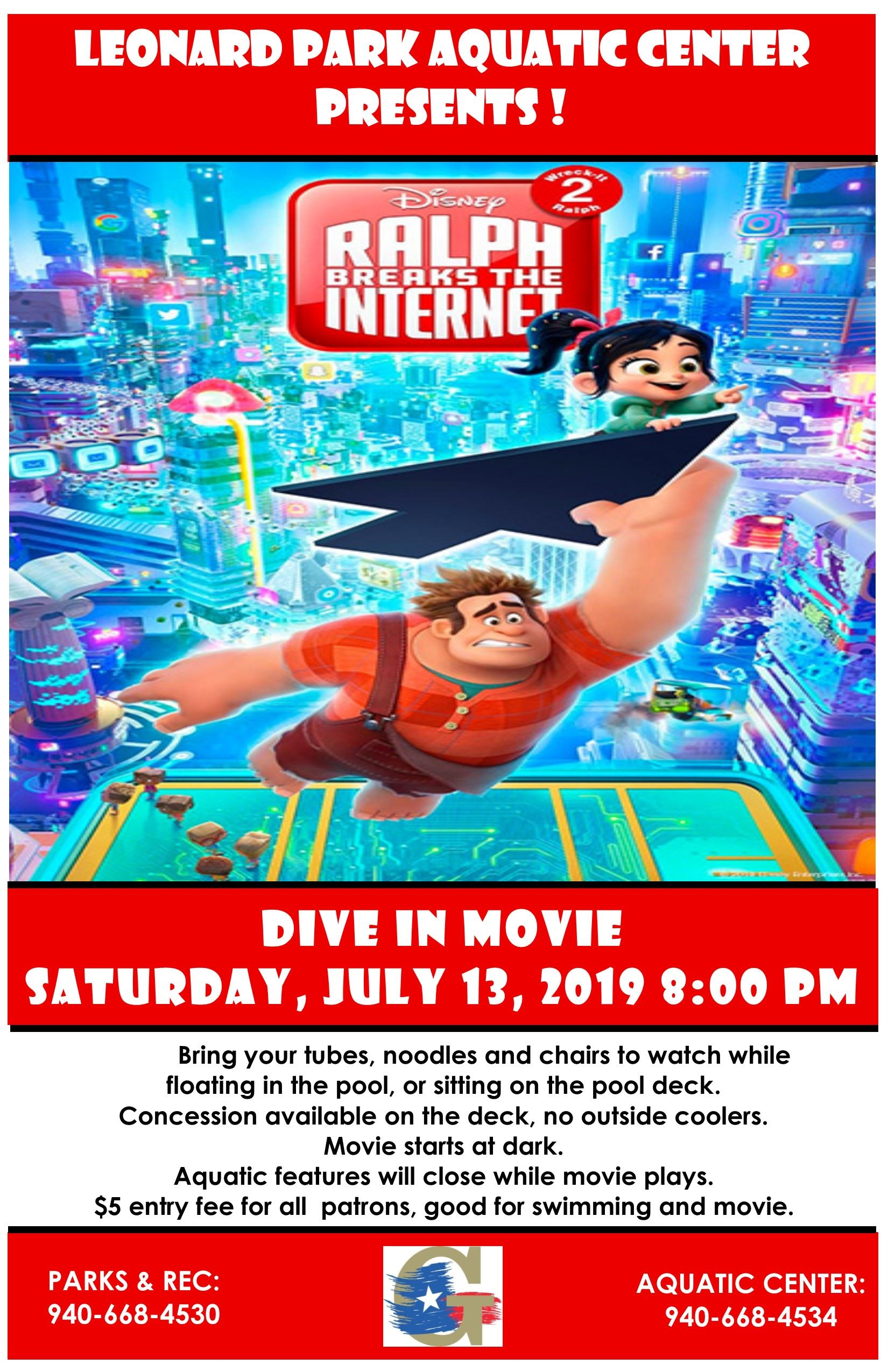 Ralph Breaks the Internet 7-13-19