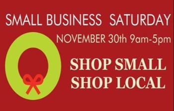 Small Business Saturday 11 30 19
